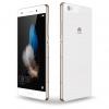 Huawei P8 Lite DUAL SIM ALE-L21 White + Husa cadou