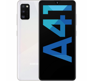 Samsung Galaxy A41 64GB 4GB-Ram Dual Sim Crush White