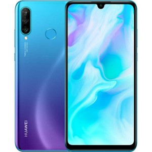 Huawei P30 Lite Dual Sim 128GB 4Gb Ram Peacock Blue + Cadou Husa Protectie