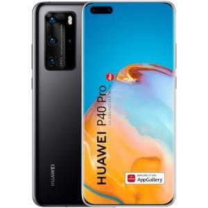 Huawei P40 Pro 5G 256GB 8GB Ram Dual Sim Black + Husa/Folie Sticla Cadou