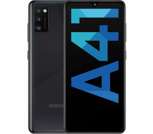 Samsung Galaxy A41 64GB 4GB-Ram Dual Sim Crush Black